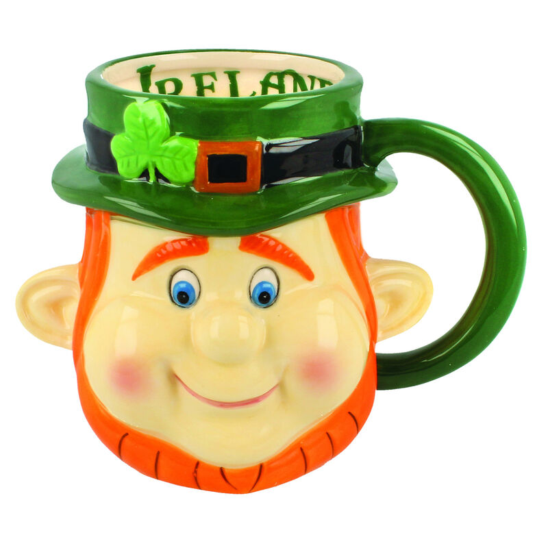 McMurfy The Leprechaun Head Mug
