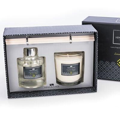 Newgrange Living Lemongrass Candle & Diffuser Set