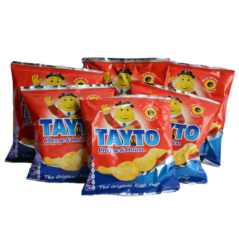 Tayto Cheese & Onion 18 Pack