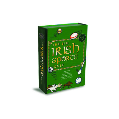 The Big Irish Sports Quiz Game Set With 60 Questions In Six Categories