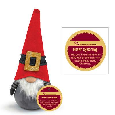 Nordic Christmas Gonk With Santa's Hat Design