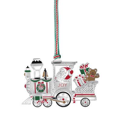 Newbridge Silverware Santa in Train Hanging Decoration