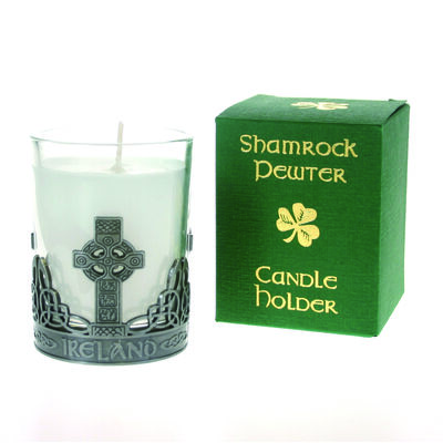 Celtic Cross Candle Holder