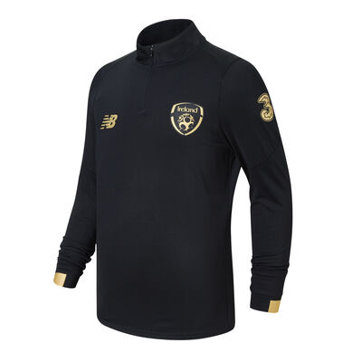 FAI Junior Pitch Long Sleeve Mid-Layer Black