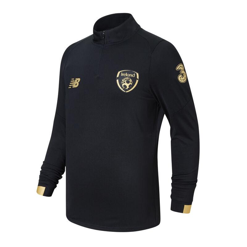FAI Junior Pitch Long Sleeve Mid-Layer Black