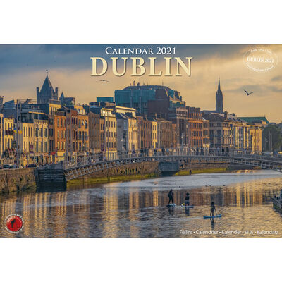 A4 12 Stunning Images Of Dublin Calendar 2021 By Liam Blake