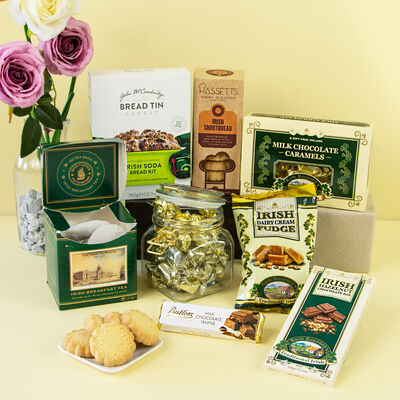 Delicious Treats From Ireland Authentic Food Gift Hamper