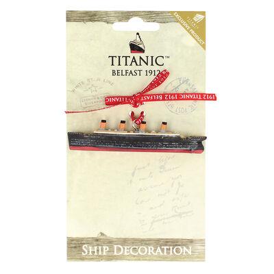 Titanic 1912 White Star Line Collectors Resin Boat Decoration