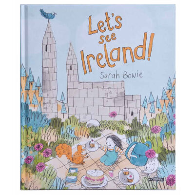 Let's See Ireland Illustration Storybook For Kids With Irish Landmark Stories