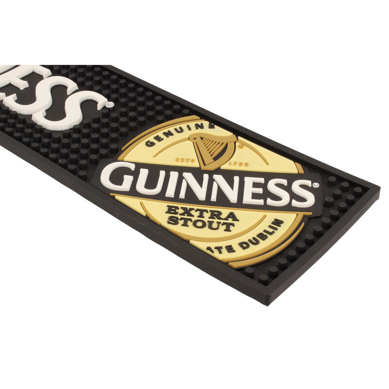 Guinness Pvc Bar Mat - Label
