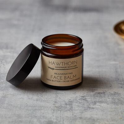 Hawthorn Handmade Skincare Rejuvenating Face Balm Shea Butter & Rose Geranium, 60ml