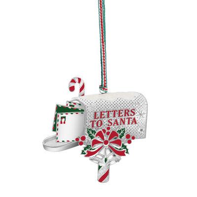 Newbridge Silverware Letters to Santa Hanging Decoration