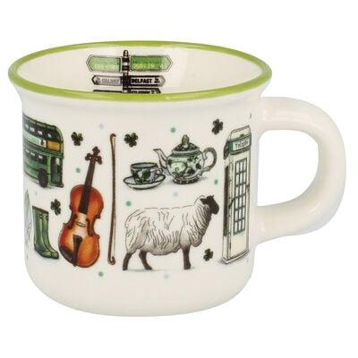 Impressions Of Ireland Espresso Mug With Irish Scenes Design