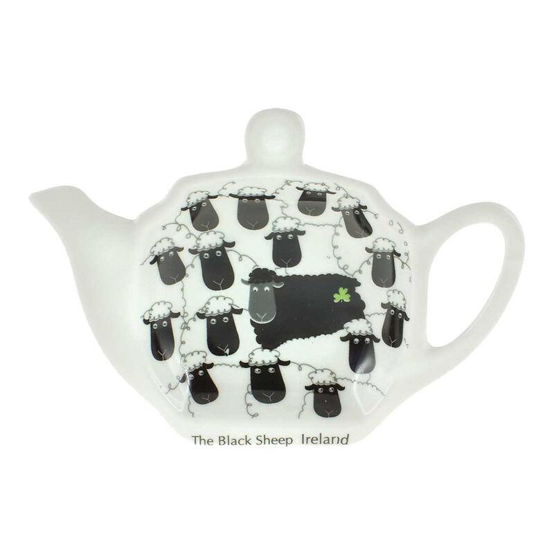 Tea Bag Holder  Black Sheep