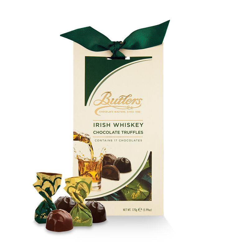 Butlers Milk Chocolate Truffles With Irish Whiskey In Tapered Box  170G
