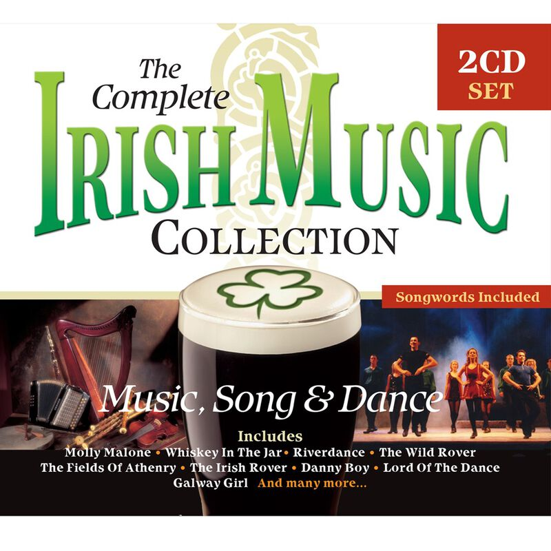 The Complete Irish Music Collection 2 Cd Set