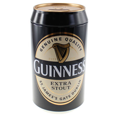 Guinness Money Box Designed In A Shape Of A Guinness Can  Made From Tin