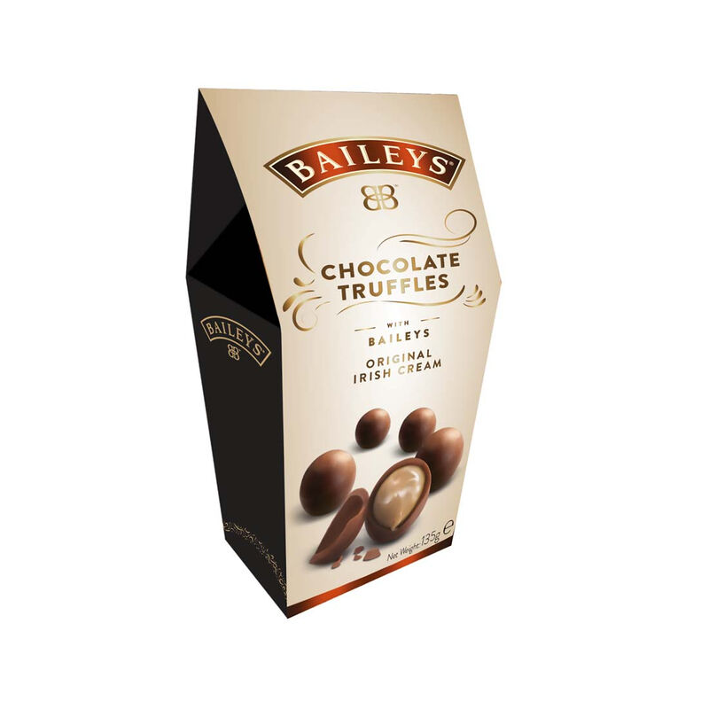 Baileys Irish Cream Twist Wraps Milk Chocolate Truffles in a Box  135G