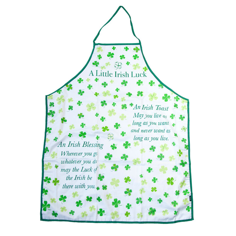 Four Leaf Clover Blessings Apron