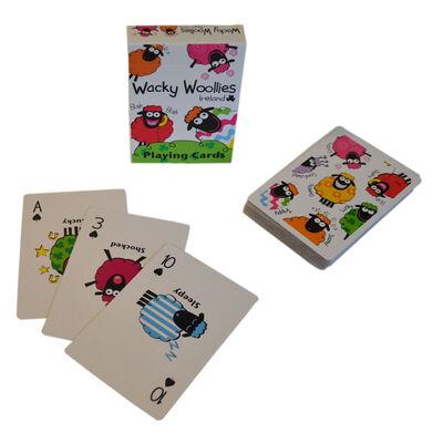 Wacky Woollies Ireland Spielkarten