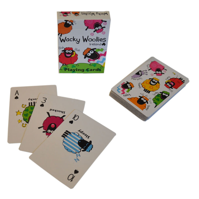 Wacky Woollies Ireland Playing Cards