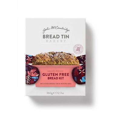 John McCambridge Naturally Delicious Gluten Free Bread Kit Including Bread Tin & Mix Bag, 360g