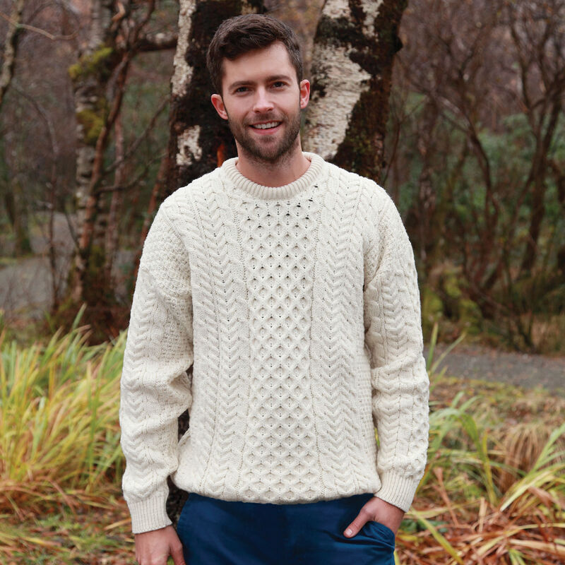 Aran Sweater - As Featured in the Knives Out Movie