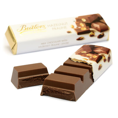 Butlers Haselnuss Praline Schokolade
