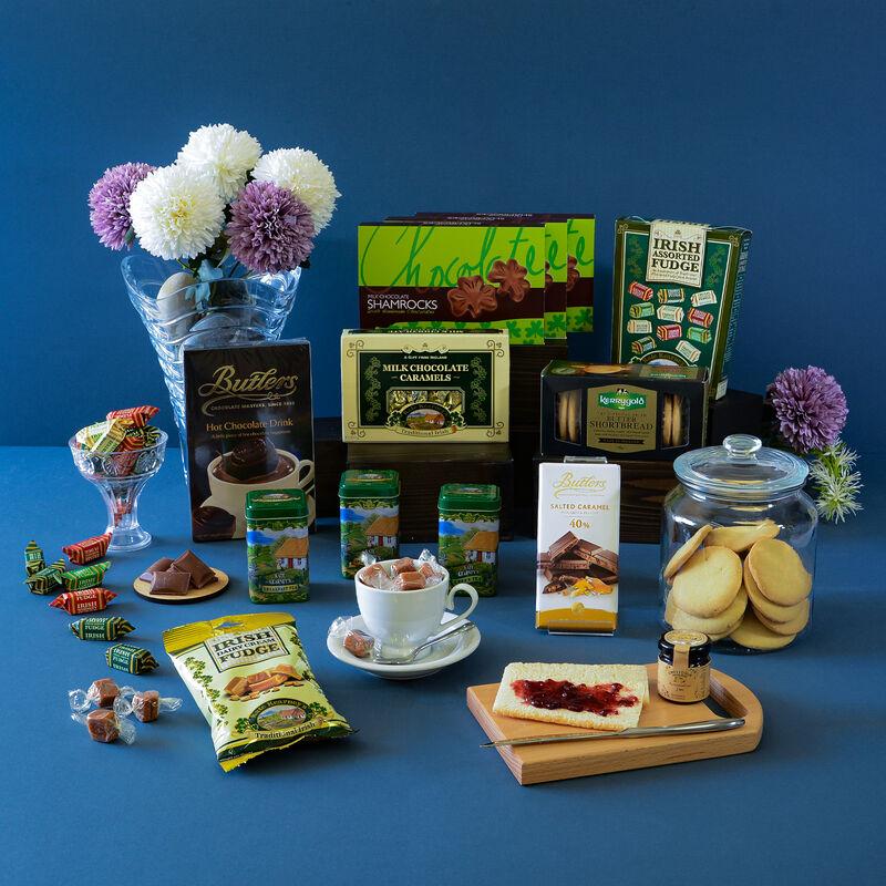Tea & Sweet Assortment Gift Hamper