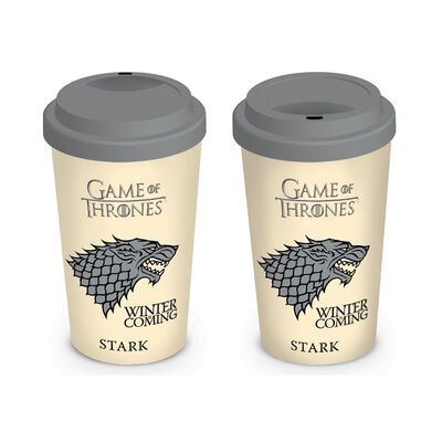 Game Of Thrones 'Winter Is Coming House Stark Image' Travel Mug