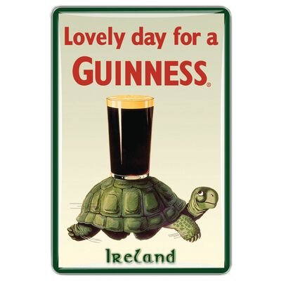 Guinness Official Merchandise Quality Epoxy Magnet With Tortoise Design
