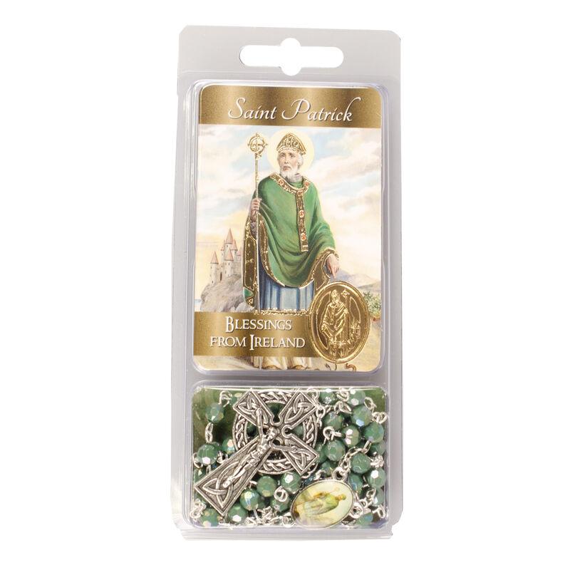 Saint Patrick Loose Acrylic Rosary Beads