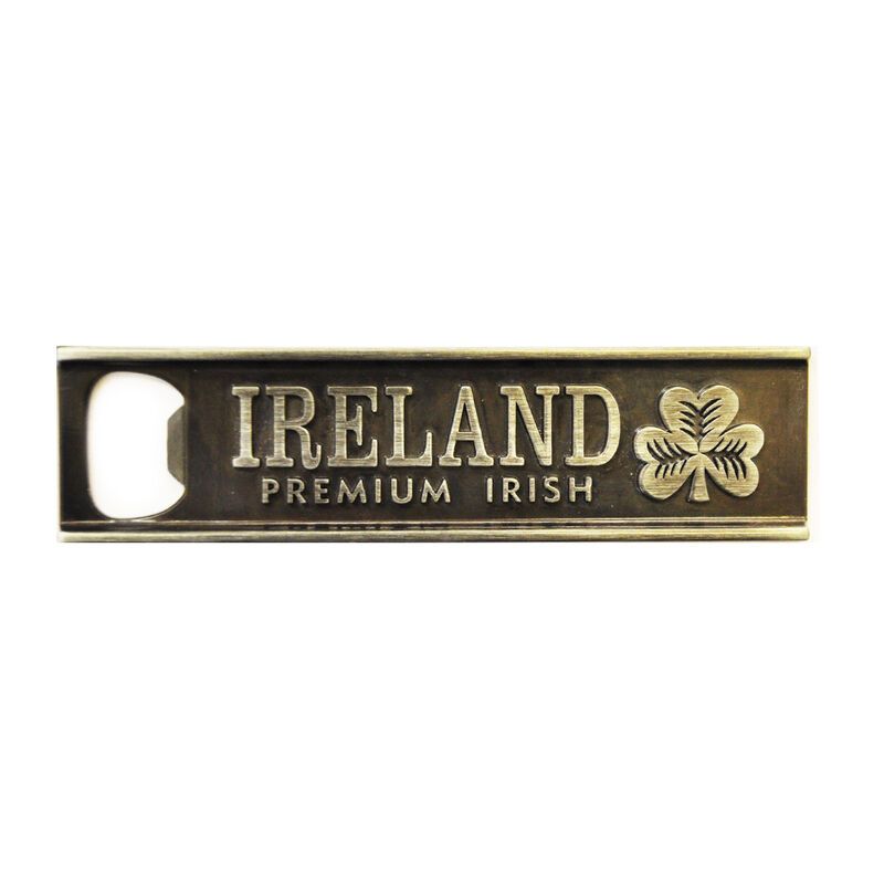 Ireland College Style Metal Bottle Opener Magnet
