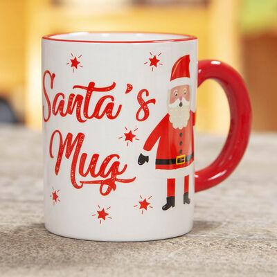 Earthenware Santa's Mug