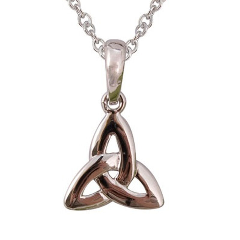 Silver Plated Celtic Trinity Knot Pendant