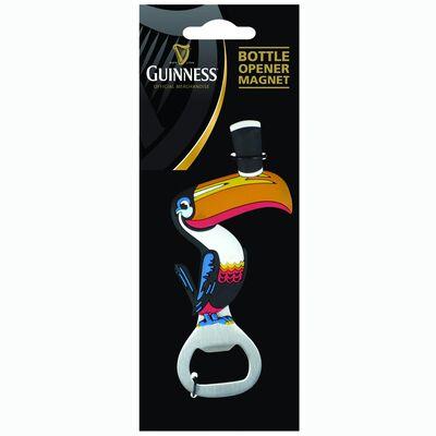 Guinness Toucan Pvc Bottle Opener Souvenir Refrigerator Magnet