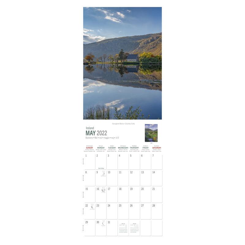 A5 Wild Ireland Scenic Views 2022 Calendar Photographer Liam Blake