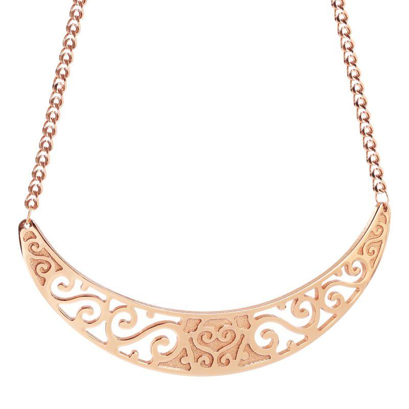Newbridge Silverware Rose Gold Plated Celtic Style Neckpiece