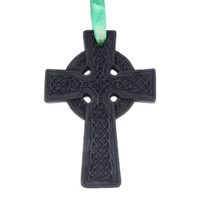 Celtic Turf Collection Handcrafted Celtic Cross Designed Hanging Decoration