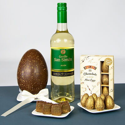 Easter Pack - Baileys Easter Egg, Baileys Mini Eggs & White Wine