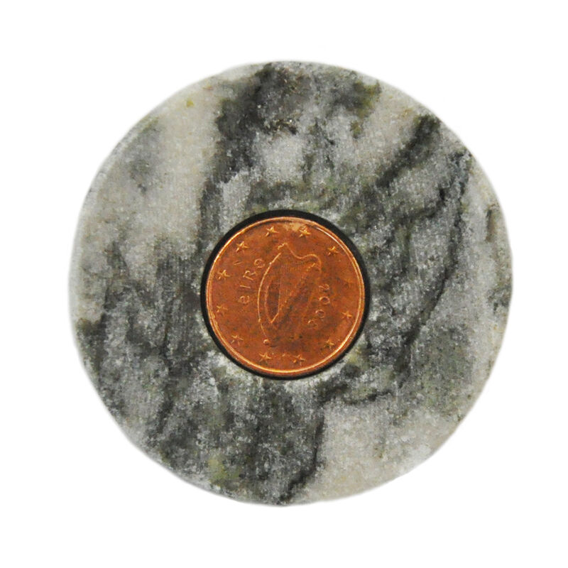 Connemara Marble Stone With Irish Lucky Penny