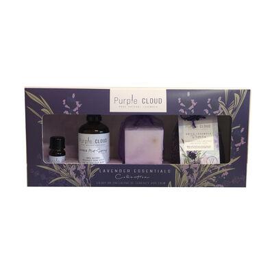 Purple Cloud Pure Natural Lavender Mist & Oil Gift Set