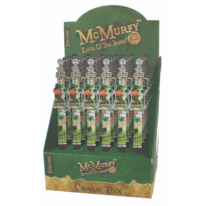 McMurfy the Leprechaun Charm Pen