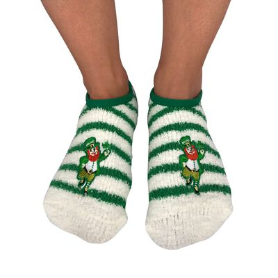 Murphy The Leprechaun One Size Fits All Irish Slipper Socks