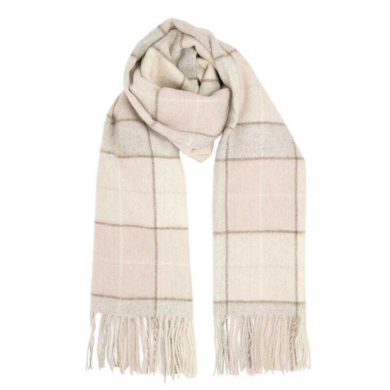 Heritage Traditions Irish Tartan Woollen Scarf – Natural Design