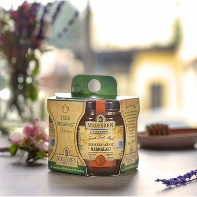 Mileeven Irish Breakfast Selection of Preserves & Marmalade, 3 Pack