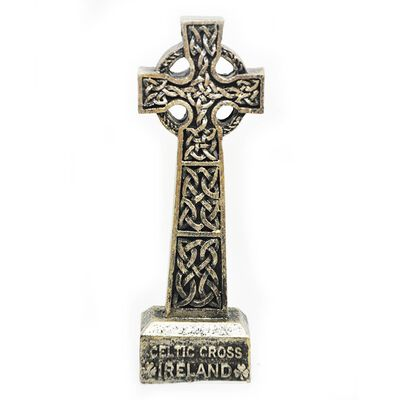 10CM Ireland Celtic Cross  Made From Resin