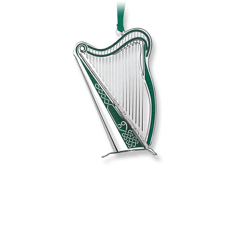Newbridge Silverware Romance of Ireland Harp Hanging Decoration