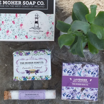 The Moher Soap Co. Aran Evening Gift Set