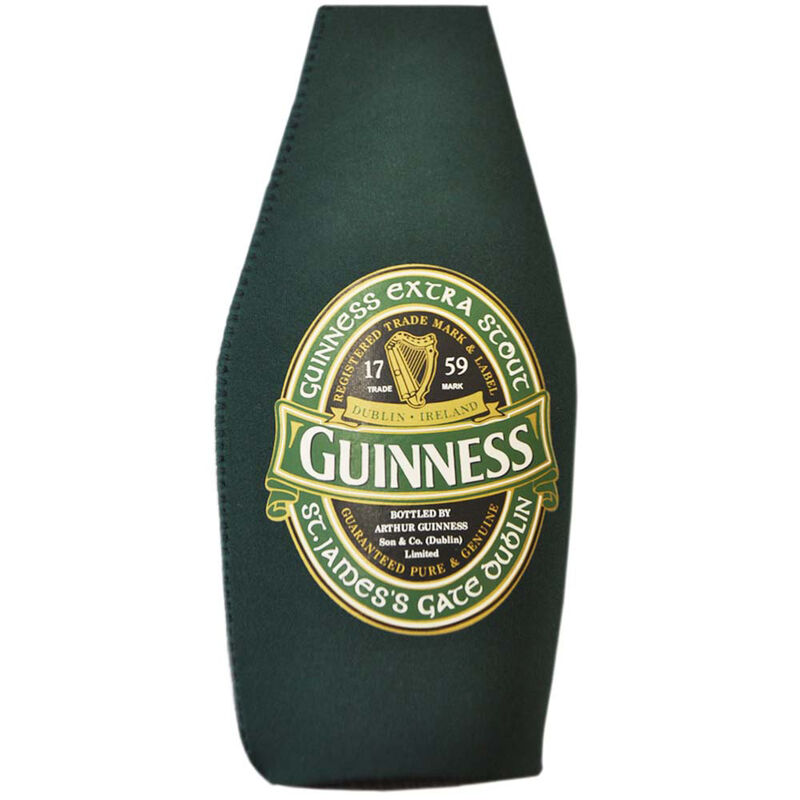 Guinness Ireland Bottle Cooler With Extra Stout Label Design